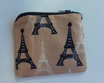 Eiffel Tower Paris coin purse