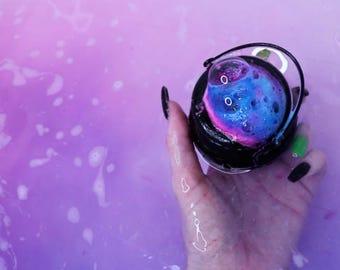 Twisted Mystery  Cauldron Bath Bomb | Fizzy Berry  | Witch Bath Bomb | Halloween | Halloween bath bomb