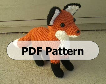 Pattern for Plush Crochet Fox