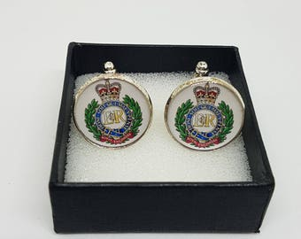 Made to Order Royal Engineers Cufflinks - A Great Gift