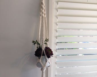 The Lovers Knot Macrame Plant Hanger