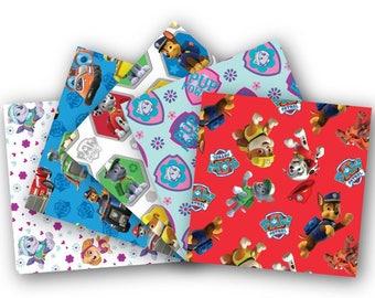Paw Patrol Cotton Bundle/Paw Patrol/Quilting/David Textiles