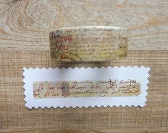Tape 1.5 cm 7 m with retro design