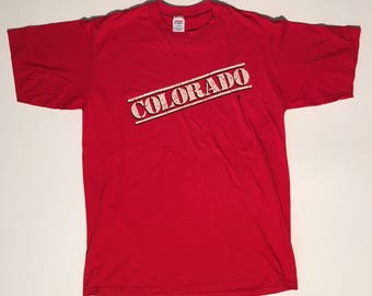 80s vintage Colorado souvenir t shirt  XL