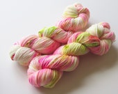 Fuzzy Cactus Hand Dyed Sock Yarn for Knitting or Crochet