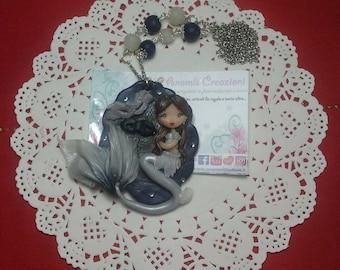 Necklace Fifty Shades Darker / Anastasia Steele mermaid version