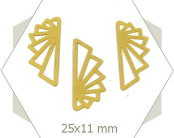 wings so matte gold origami BG53 8 connectors
