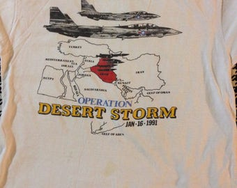 1991 Desert Storm Tee (collectors item)