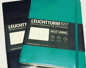 Bullet Journal - Leuchtturm1917 - The Official Bullet Journal / Bujo Notebook