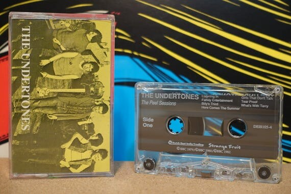 The Peel Sessions by The Undertones Vintage Cassette Tape