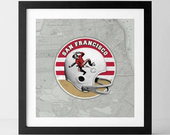 Vintage NFL: San Francisco 49ers-inspired