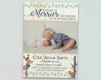 Christmas Birth Announcement