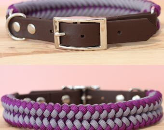 Custom Jawbone Paracord Dog Collar