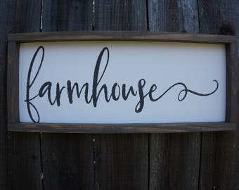 Farmhouse Sign - Farmhouse Decor - Home Decor - Wall Decor