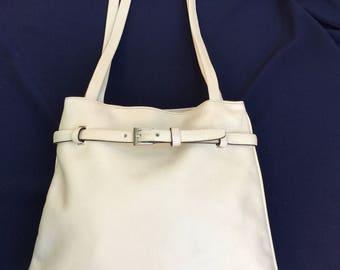 FRATELLI ROSSETTI |80s vintage bag|Shoulderbag Fratelli Rossetti | Vintage shoulderbag |Made in Italy bag|80s Fratelli Rossetti | leather Ba