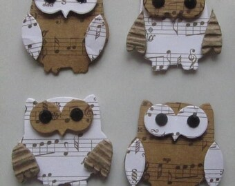 Solde -5% Eight OWLS - Hand made in India