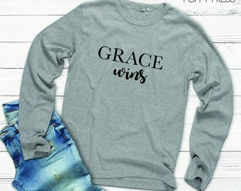 Grace Wins Long Sleeve Tee | Women's Shirt