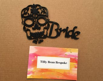 Day of the Dead wedding place names, Day of the Dead wedding, Sugar Skulls wedding, Sugar Skulls place name, Wedding place name, table decor