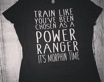 Power Ranger Inspired T-Shirt for Women
