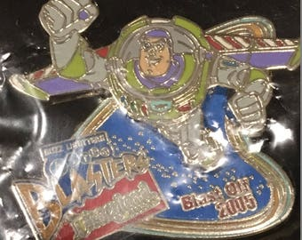 Disney Disneyland DLR Pin Buzz Lightyear Astro Blasters Blast Off  (Sealed in Original Package) ~ Limited Edition