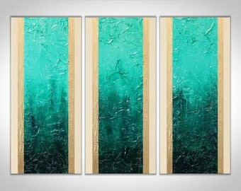 Turquoise Art, Abstract Painting, Original Painting, Large Art, Canvas Art, Wall Art, Abstract Art, Abstract Painting, Textured Painting