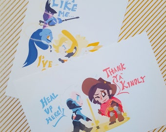 I Need Healing! - Overwatch Mini Prints