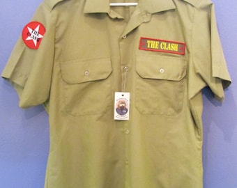 The Clash Men's Button-Down Shirt XL