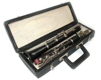 Old b clarinet · French system · Mood B · Black Wood · 67 cm