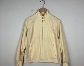 Vintage London Fog Jacket, Pale Yellow Jacket
