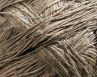 YARN: nettle _ natural yarn