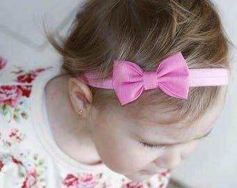Barbie pink signature bow
