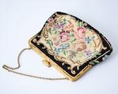 Vintage Handbag Vintage Accessories Hand Made Handbag Vintage Petit Point European Hand Craft Vintage Wedding Vintage Handbag