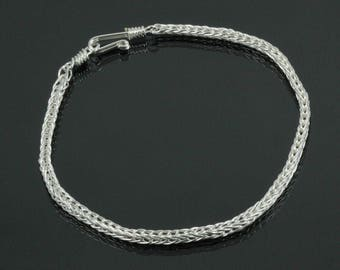 Handmade Double Loop in Loop Bracelet