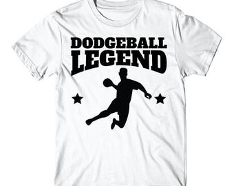 Retro Dodgeball Legend Dodgeball Player T-Shirt