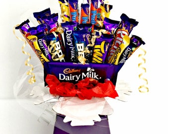 Cadbury Variety Chocolate Bouquet - Gift for all occasions - Sweet Hamper Explosion