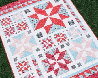 All Star Quilt Pattern