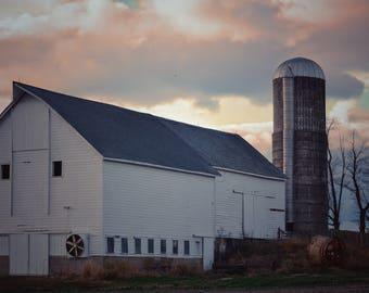 Farm Photography, Countryside Landscape, Wall Decor, Farmstead Photography, Country Photography, Rustic Wall Decor, Wall Art