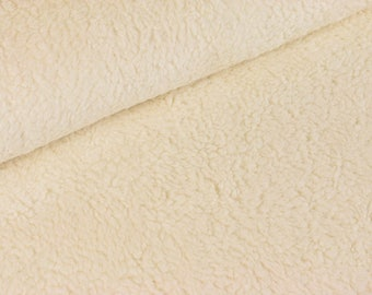 Cozy eco-BW Teddy fabric 100% cotton (16,00 EUR / meter)