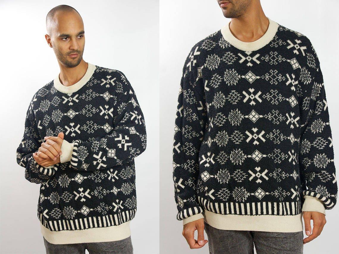 Tribal Sweater Men / Tribal Sweater Oversized / Tribal Sweater ...