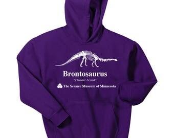 Stranger Things Dustin's Brontosaurus Hoodie - Stranger Things 2, Stranger Things