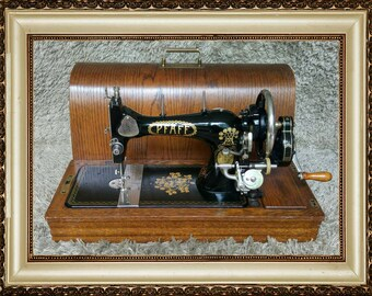 Pfaff 11 | Antique Sewing Machine | Kaiserslautern Germany 1935 | Antike Nähmaschine | Macchina da Cucire | Machine à Coudre | FREE Shipping
