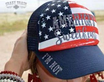 Flag Hat - Not America's Sweetheart