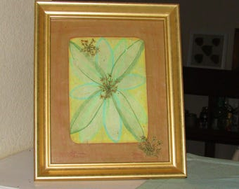 Contemporary Botanical Art: Green Tea