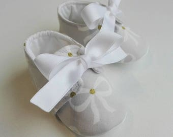 Baby chic bow gold