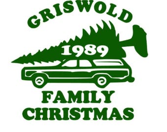 Griswold family christmas National lampoons chistmas vacation SVG cut file Silhouette Cricut