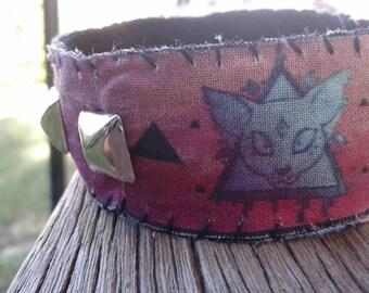 Studded Gypsy Cat Bracelet