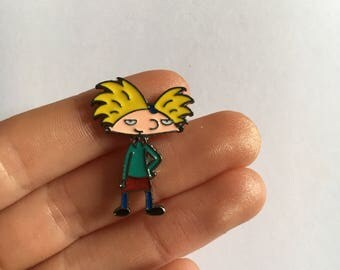 Hey Arnold! Enamel Pin