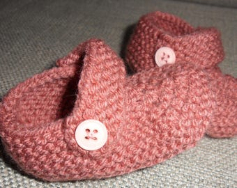 adorable ballerina slippers for baby