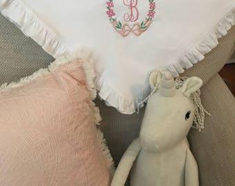 Personalized Baby Blanket // Monogrammed Baby Blanket // Newborn Gift // Baby Gift