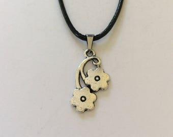 Flower necklace / flower jewellery / flower gift